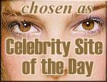 Celebrity Site of theDay
